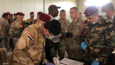 التحالف الدولي ينسحب من قاعدة كركوك ويسلمها للقوات العراقية
