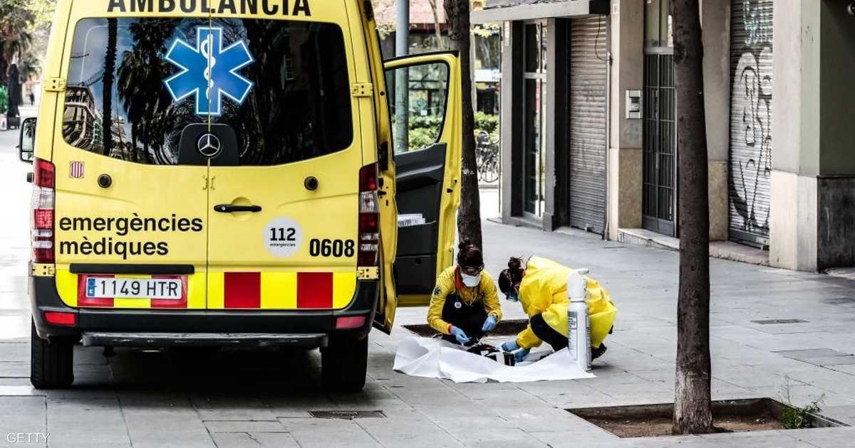 إسبانيا.. رقم قياسي جديد لوفيات فيروس كورونا