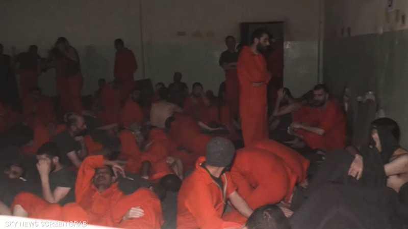 """""""قسد"""" تعتقل عناصر من داعش فروا من سجن الحسكة"""