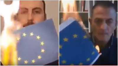 """فيديو لن يعجب الاتحاد الأوروبي.. والسبب """"التخلي عن إيطاليا"""""""