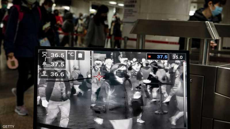 كاميرات تراقب حرارة المسافرين في محطات مترو تايوان
