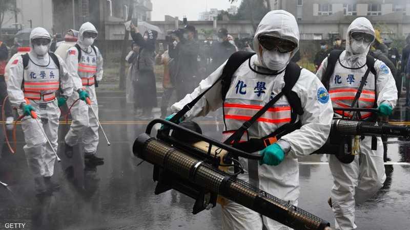 أعمال التعقيم في تايوان لا تتوقف