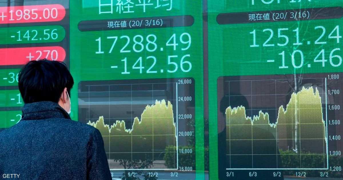 انتعاش الأسواق الآسيوية وسط آمال ببدء انحسار كورونا بأوروبا
