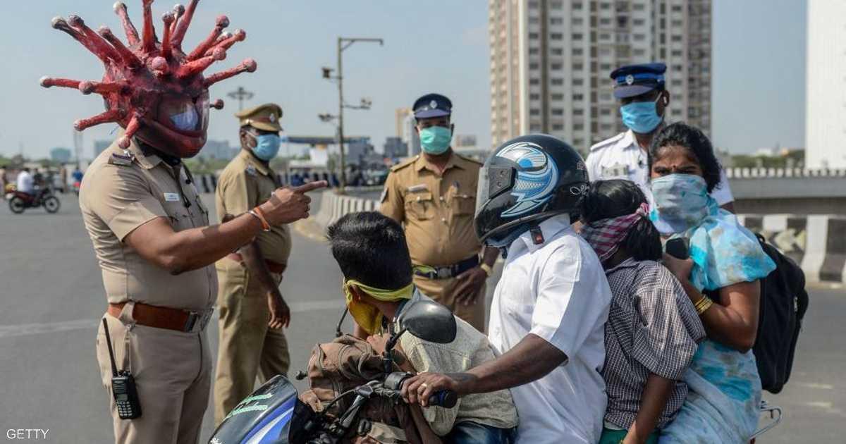 الهند تسجل مئات الإصابات بكورونا.. وارتفاع حالات الوفاة