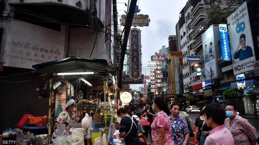 أسواق تايلاند لا تشعر بتفشي كورونا في آسيا.