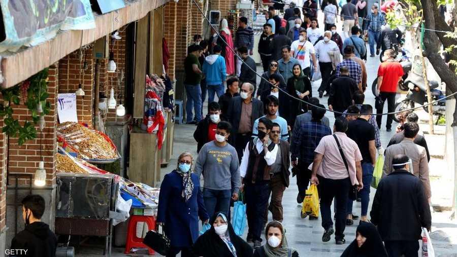 """الحياة """"طبيعية"""" في طهران."""