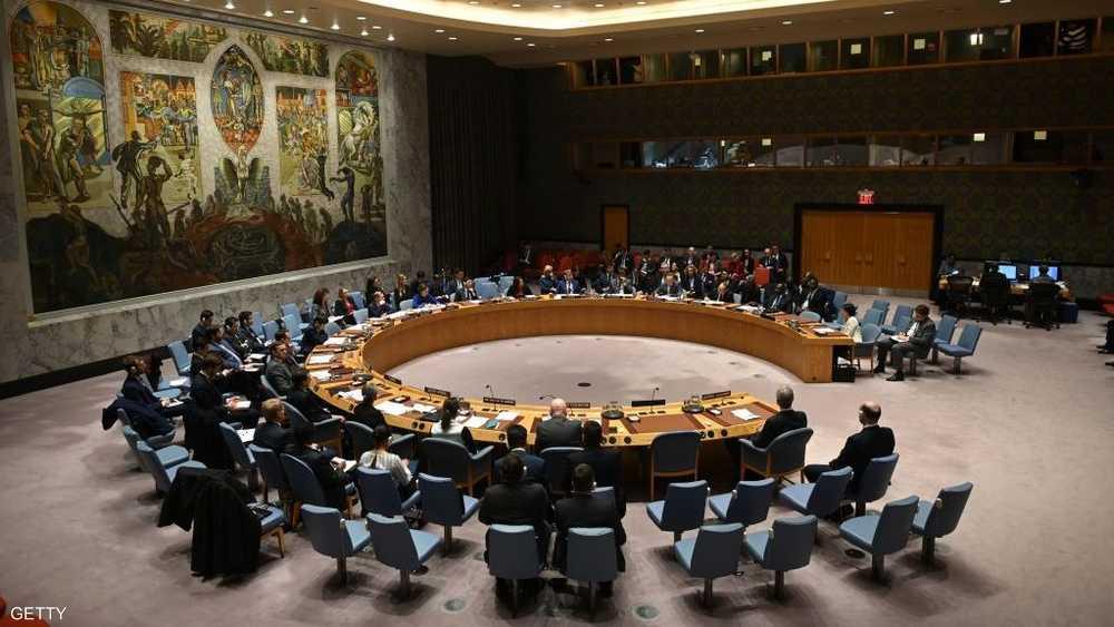 أرشيفية لإحدى جلسات مجلس الأمن الدولي