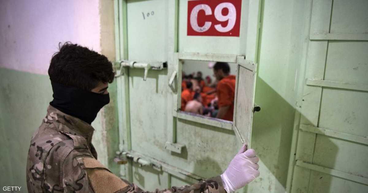 أنباء عن هروب عناصر من داعش من سجن في شمال سوريا   أخبار سكاي نيوز عربية