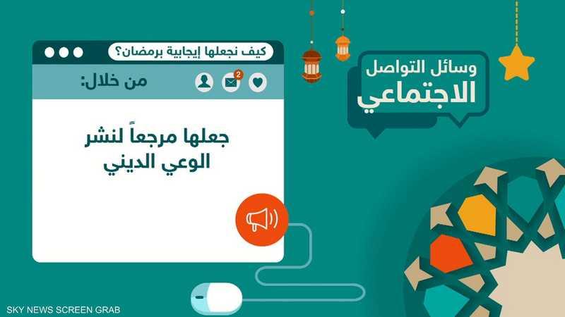 وسائل التواصل.. كيف نجعلها إيجابية في رمضان؟