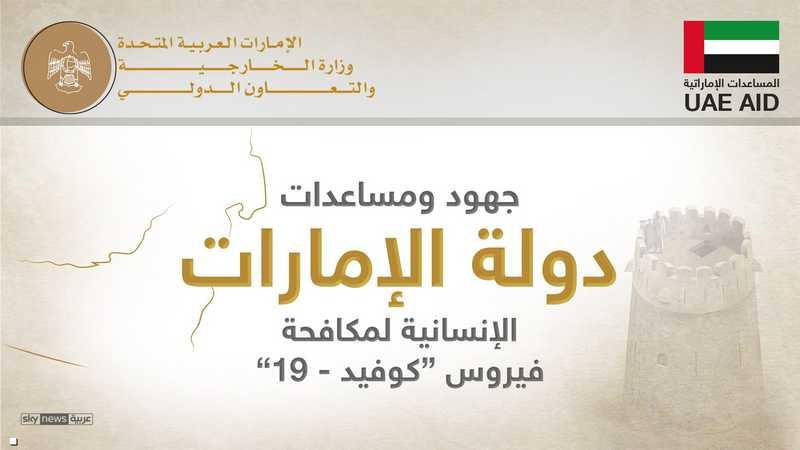 جهود ومساعدات الإمارات العالمية في مكافحة كوفيد-19