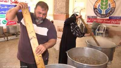 """""""تكايا رمضان"""".. ملاذ فقراء غزة في ظل أزمة كورونا"""