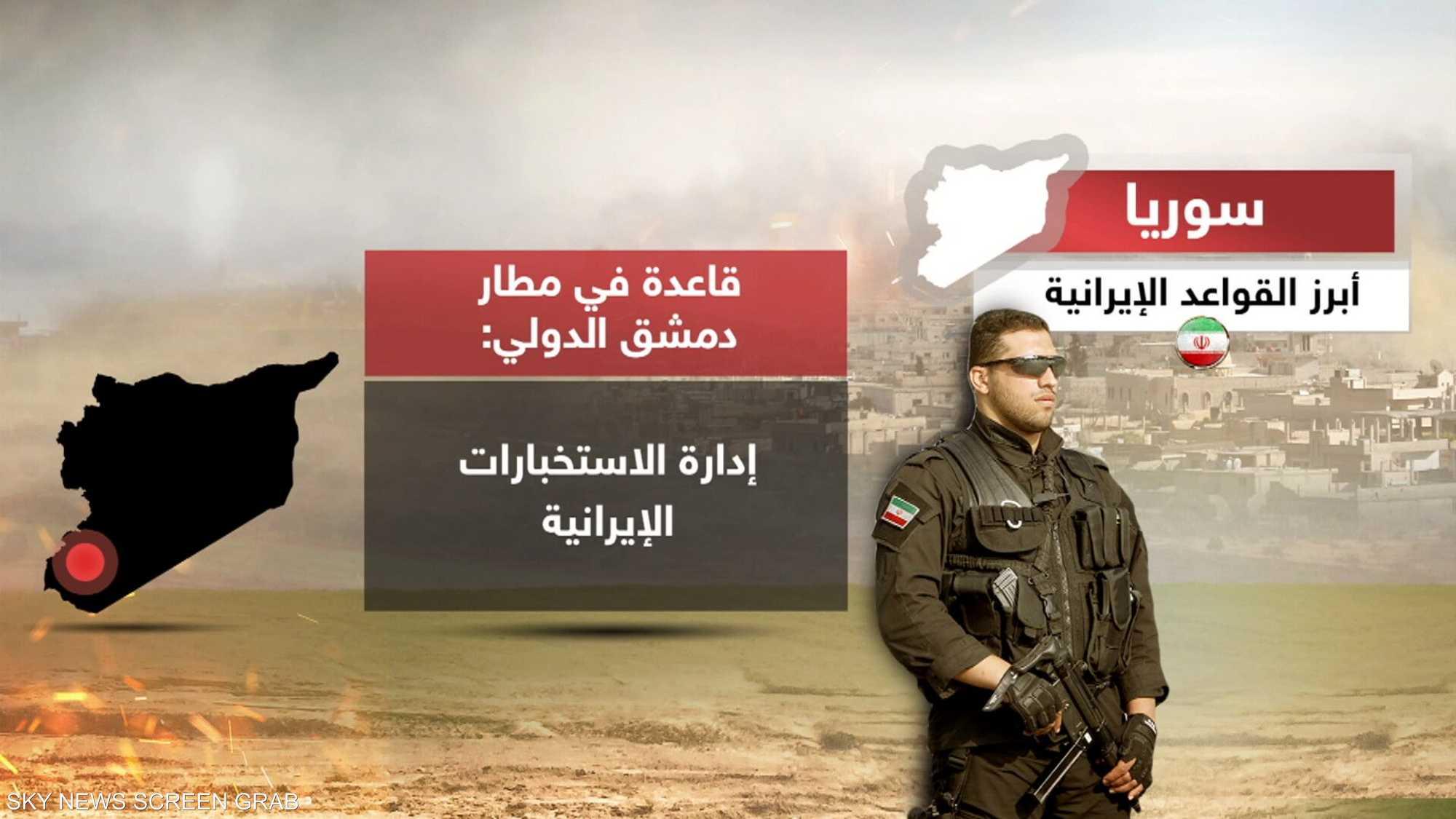 سوريا.. أبرز القواعد الإيرانية