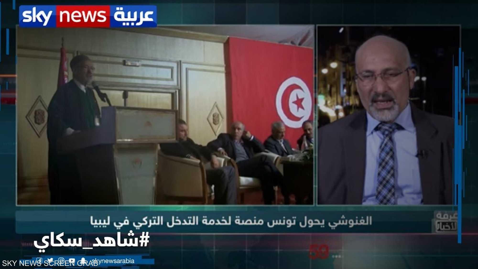 الغنوشي يحول تونس منصة لخدمة التدخل التركي في ليبيا
