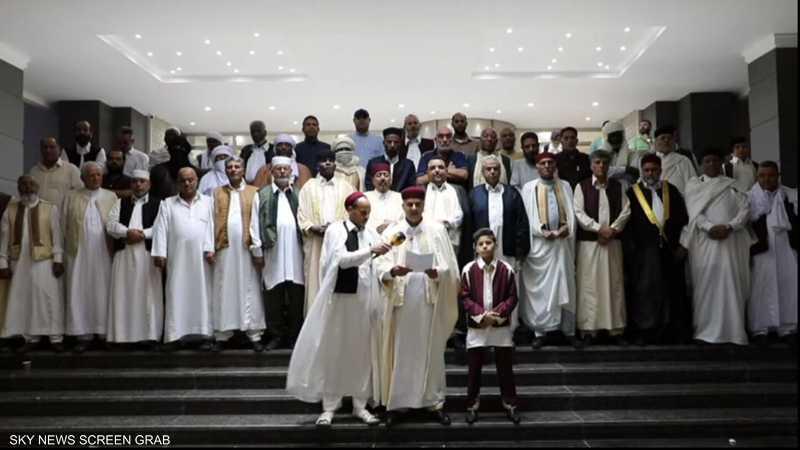 مشايخ وأعيان ليبيا يطالبون بالتدخل ضد الاحتلال التركي