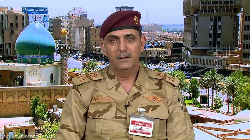 المتحدث العسكري باسم رئيس الوزراء العراقي، العميد يحيى رسول
