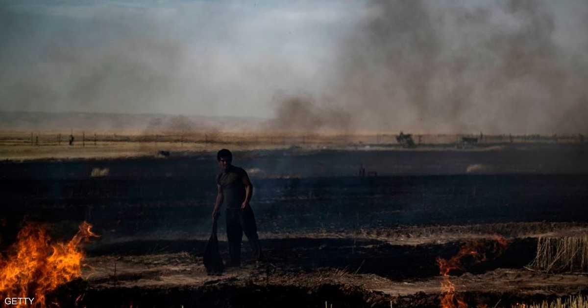 ترامب يأمر بحرق هكتارات من حقول القمح في سوريا   أخبار سكاي نيوز عربية