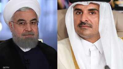 روحاني يعرض على أمير قطر المساعدة في تنظيم المونديال