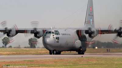ليبيا.. رصد وصول طائرتين عسكريتين تركيتين إلى مصراتة