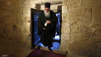 إعادة فتح كنيسة المهد في بيت لحم