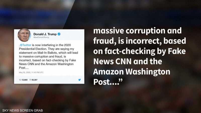 ترامب يهدد بإغلاق مواقع التواصل بعد خلاف مع تويتر