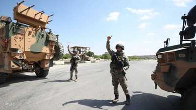 إصابة جنود أتراك في انفجار بإدلب السورية