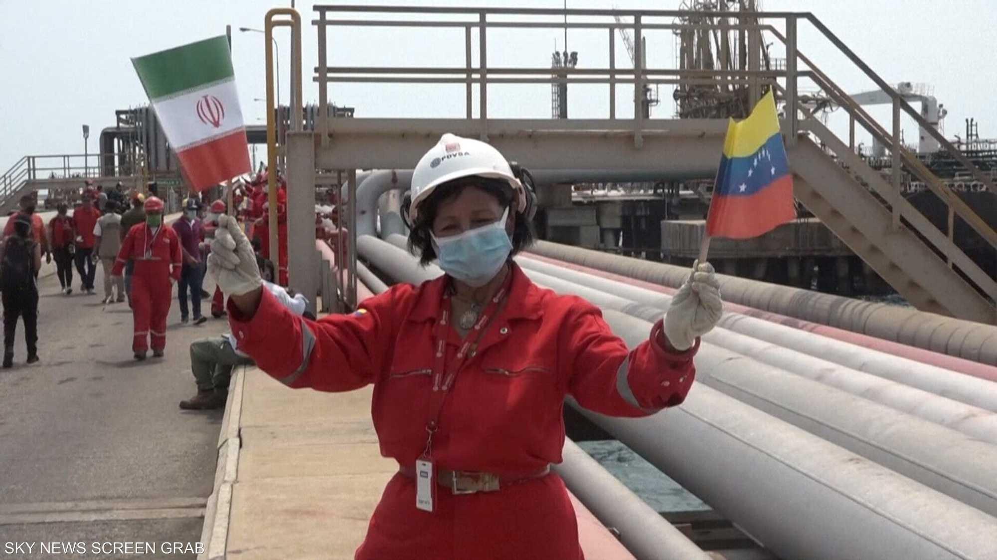 نذر مواجهة أميركية إيرانية بسبب شحنات النفط لفنزويلا