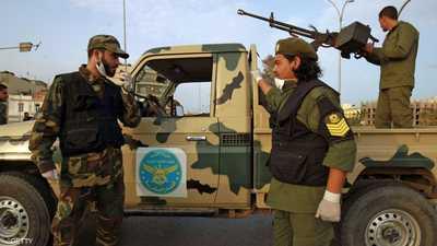 عناصر من الجيش الوطني الليبي