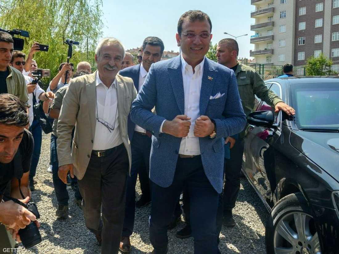 أكرم إمام أوغلو تولى بلدية إسطنبول في صيف 2019