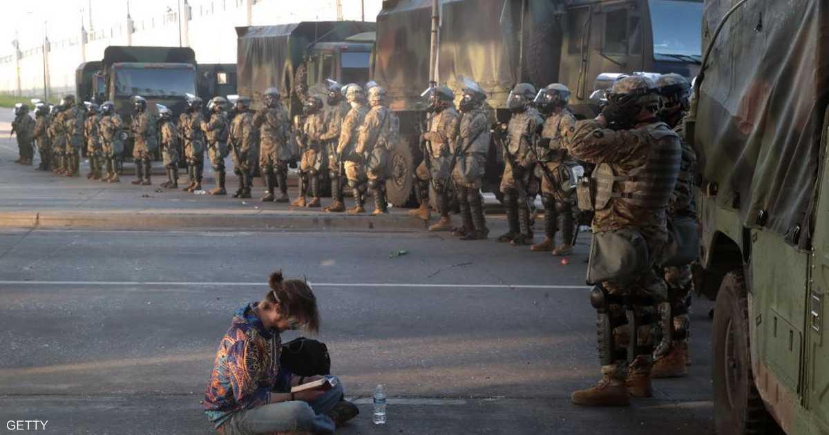 مظاهرات تجتاح عدة مدن أميركية احتجاجا على حادثة مينيابوليس