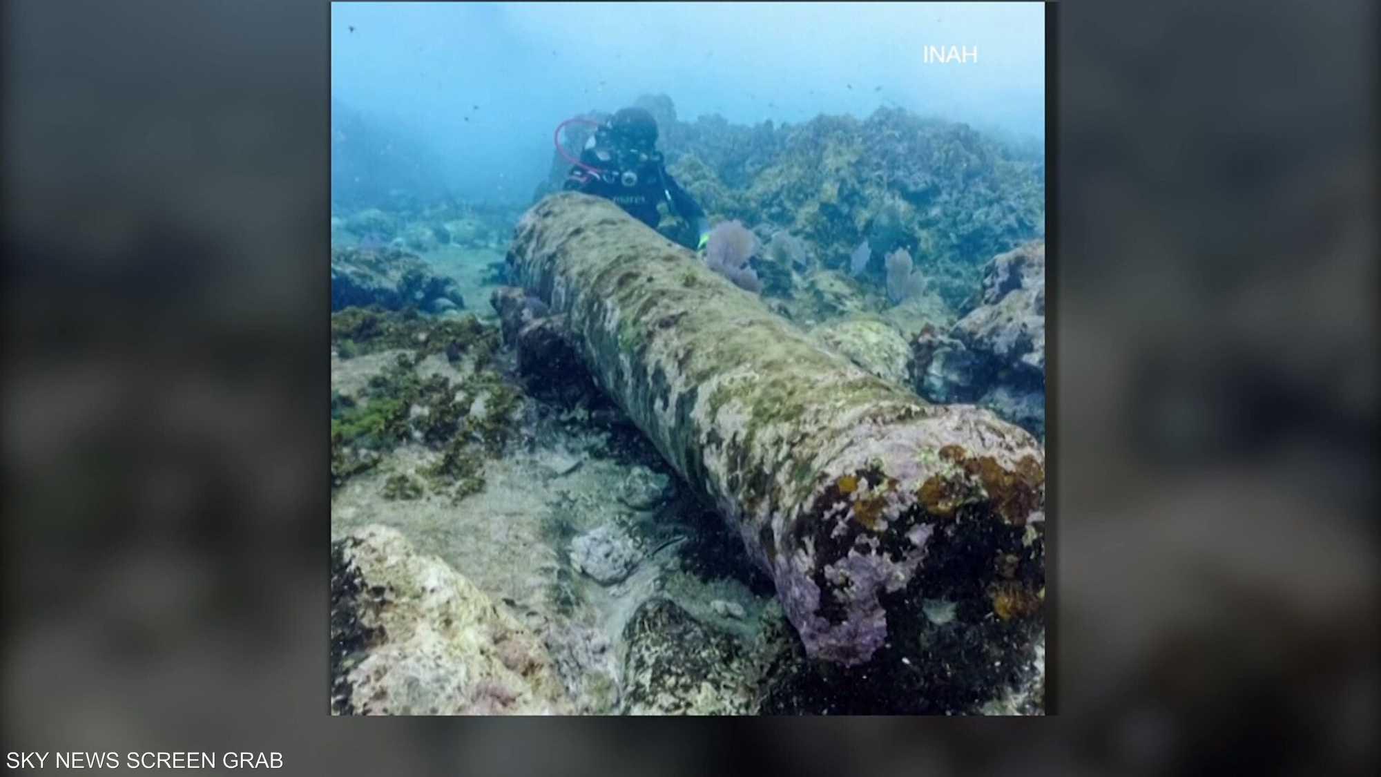 اكتشاف حطام سفينة عمرها 200 عام بالمكسيك