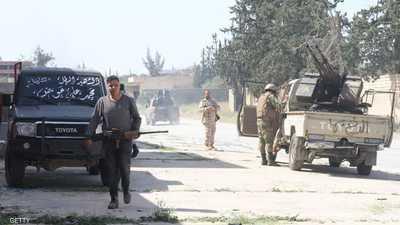 الجيش الليبي يخوض حربا ضد الإرهاب