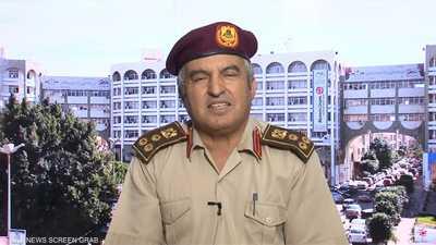 /مدير إدارة التوجيه المعنوي بالجيش الليبي العميد خالد المحج