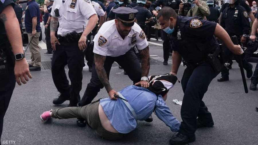 الأمن استخدم العنف في محاولة لقمع التظاهرات