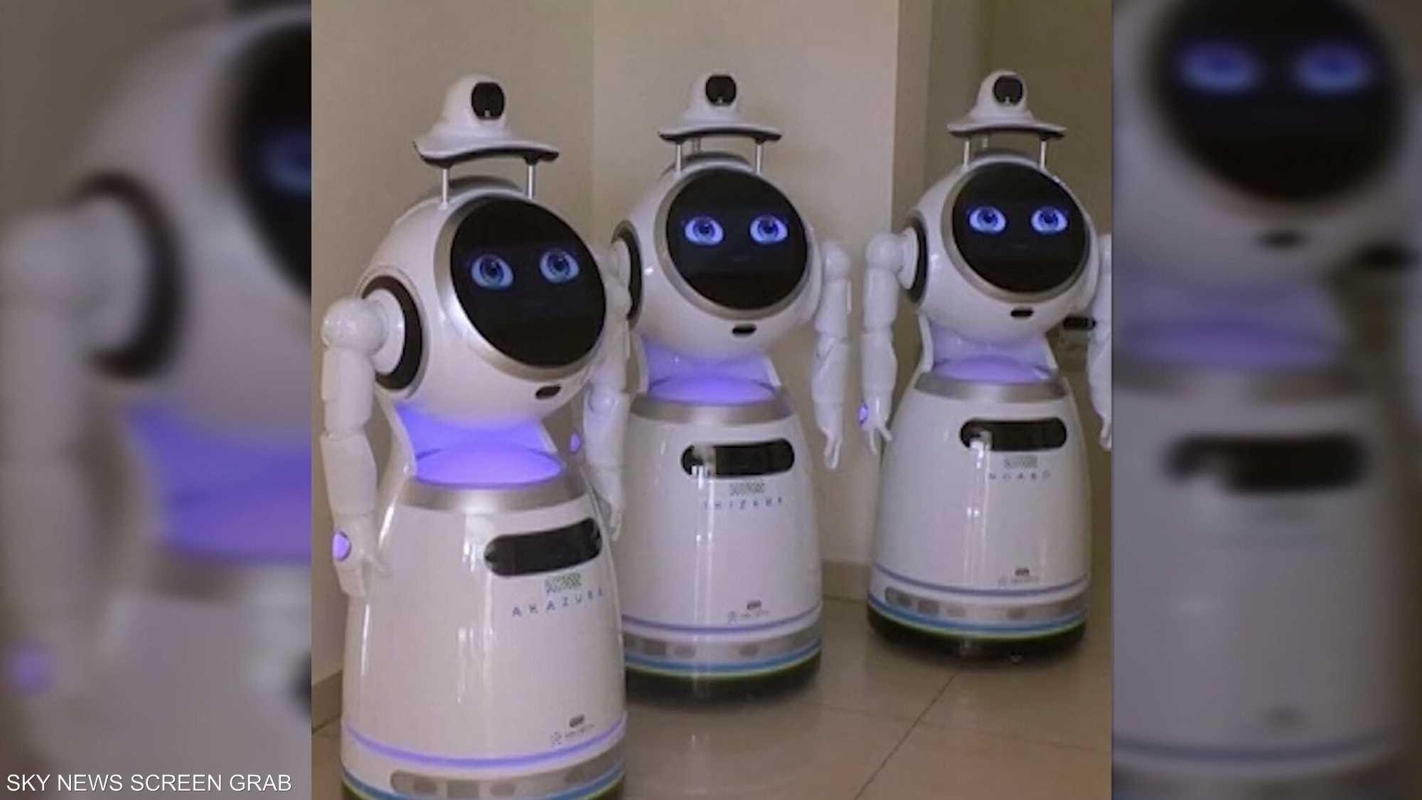 روبوتات تقتحم القطاع الصحي بوجه كورونا