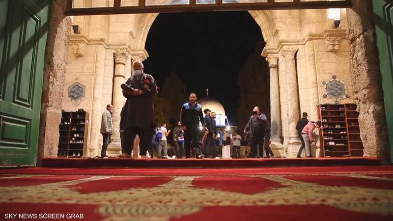 إعادة فتح المسجد الأقصى بعد إغلاقه بسبب كورونا