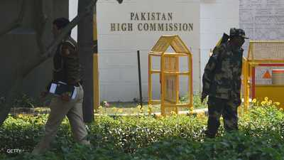 """الهند تطرد مسؤولين في السفارة الباكستانية بتهمة """"التجسس"""""""
