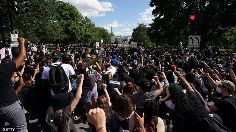 التظاهرات الأميركية مستمرة