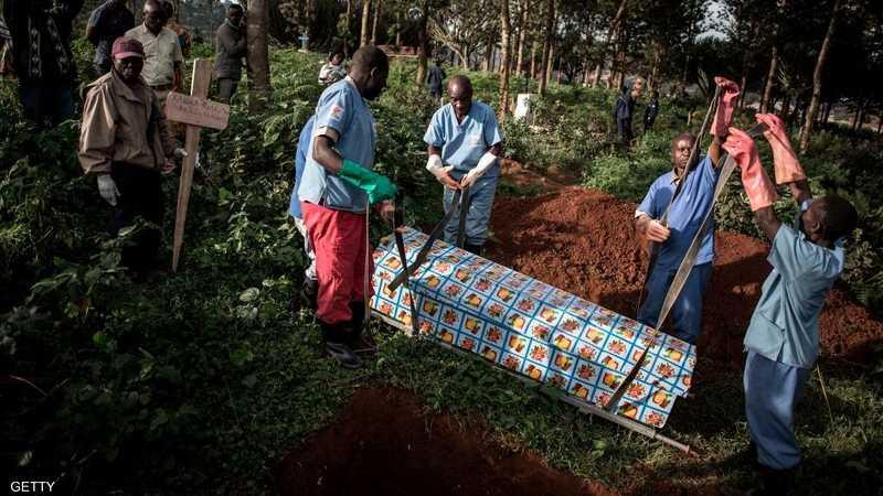 نسبة الوفيات الناجمة عن إيبولا كانت مرتفعة