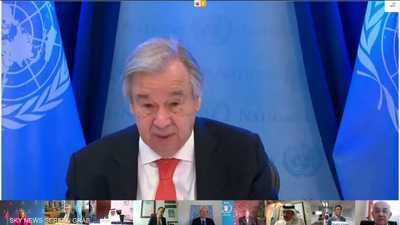 غوتيريش: يجب منع الميليشيات من قرصنة المساعدات لليمن