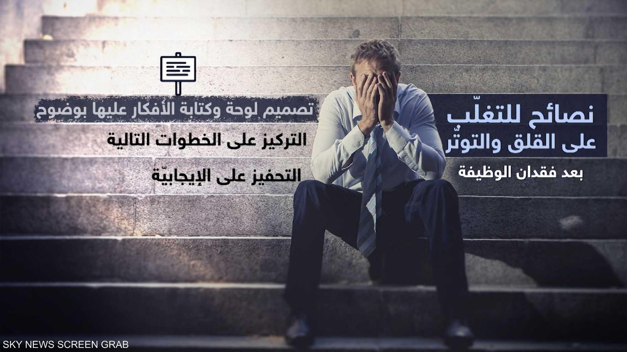 نصائح للتغلب على القلق والتوتر بعد فقدان الوظيفة