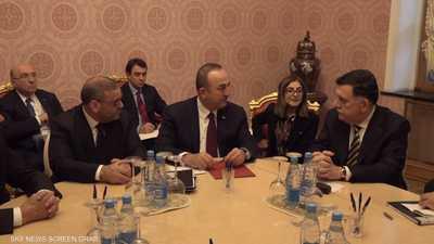 السراج في أنقرة بعد إعلان تركيا استمرار دعمها لحكومة الوفاق