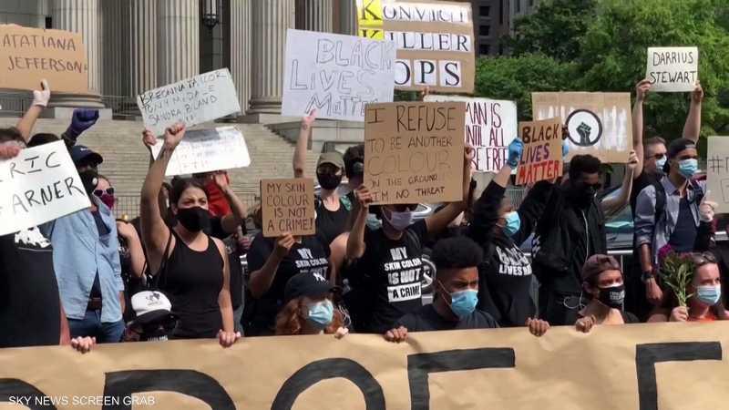 أميركا.. مخاوف من ارتفاع الإصابات بكورونا مع استمرار الاحتجا