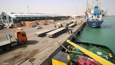 غرق سفينة شحن إيرانية في المياه العراقية