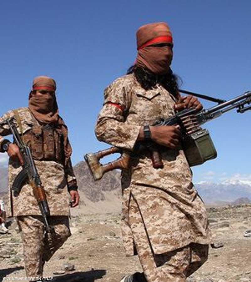 عناصر من حركة طالبان (أرشيف)
