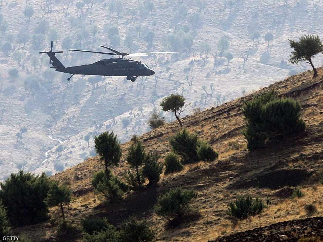 ضربت طائرات تركية أهدافا لأكراد في شمال العراق. أرشيف