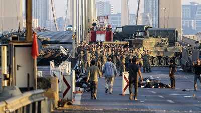 """تركيا تقمع مظاهرة """"المتصدين للانقلاب"""" بعدما طالبوا بتعويضهم"""
