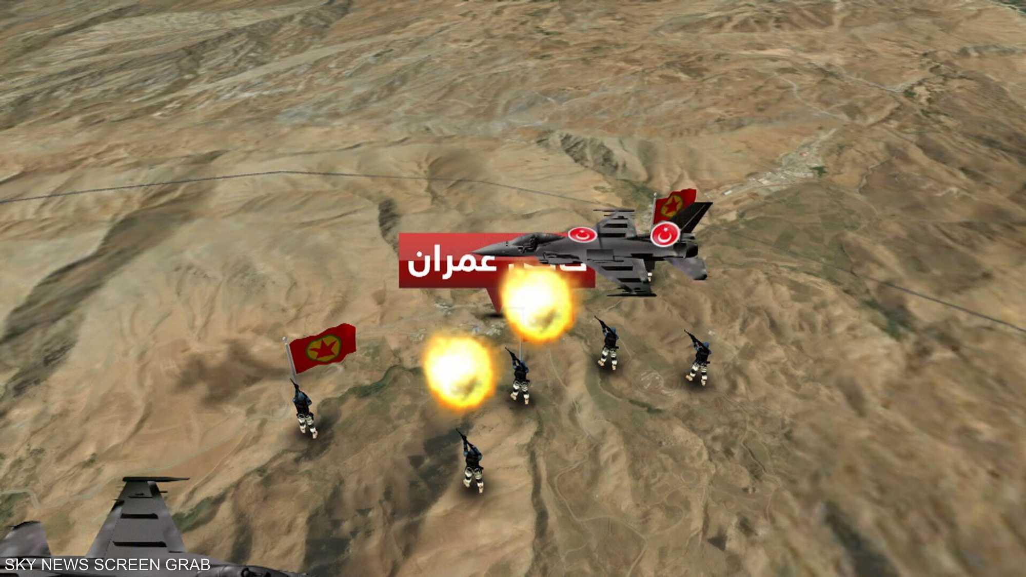 غارات تركية وقصف إيراني على شمال العراق