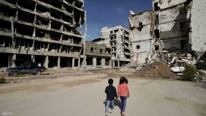 جانب من مدينة بنغازي الليبية - أرشيفية