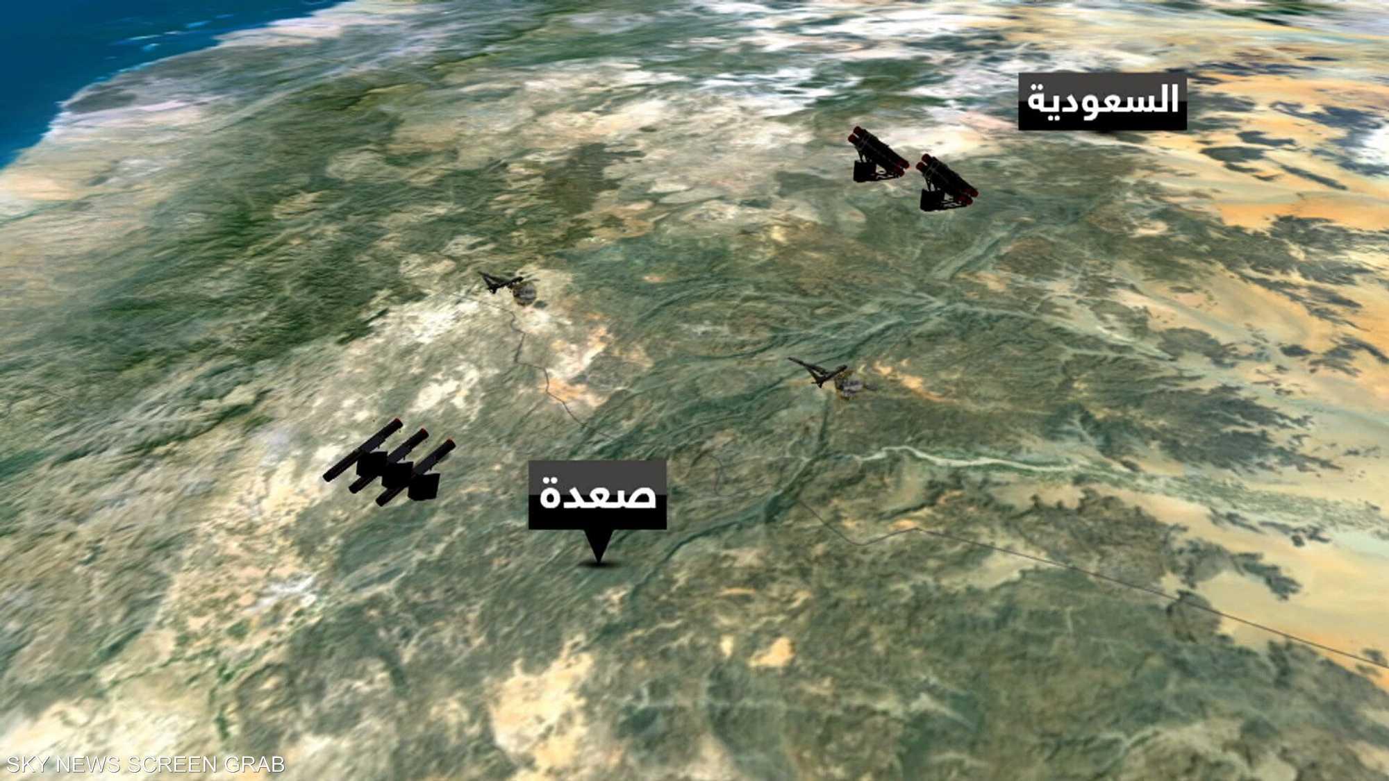 التحالف العربي يتصدى لطائرات مفخخة وصواريخ حوثية