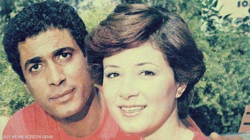 أحمد زكي وهالة فؤاد.. صورة نادرة قبل رحيل النجمة المحبوبة | أخبار سكاي نيوز عربية